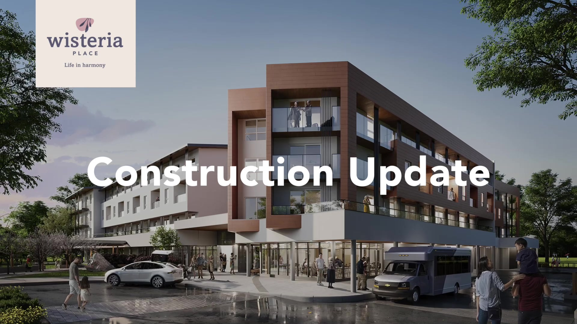 Wisteria Place - Construction Update